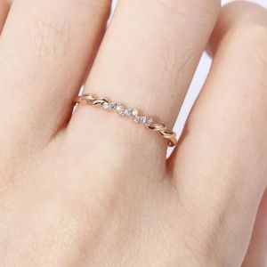 Jewelry - Delicate  Rose Gold Ring
